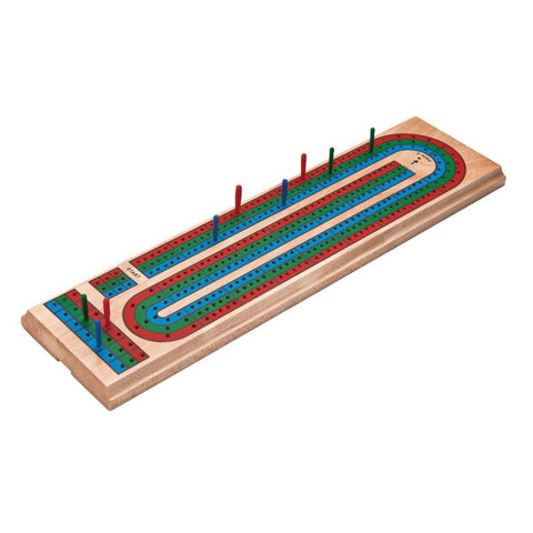 Mainstreet Classics Wooden Barony Cribbage Board Game Set Mainstreet Classics