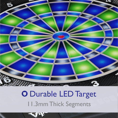 Viper Ion Illuminated Electronic Dartboard Soft-Tip Dartboard Viper