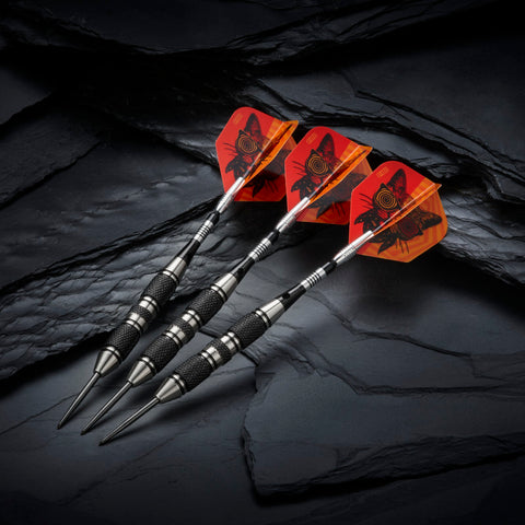 Image of Viper The Freak Steel Tip Darts 3 Knurled Rings Barrel 22 Grams