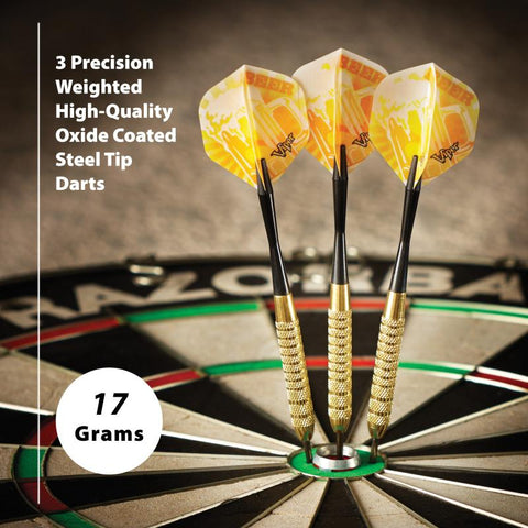 Image of Fat Cat Beer Darts Steel Tip Darts 17 Grams Steel-Tip Darts Fat Cat