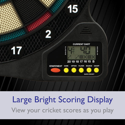 "Image of Fat Cat 727 Electronic Dartboard, 13.5"" Compact Target"