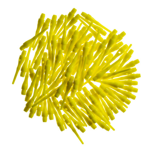 Image of Viper Tufflex Tips III 2BA Neon Yellow 100Ct Soft Dart Tips