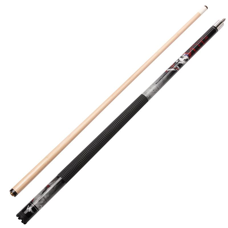 Viper Revolution Outlaw Cue and Casemaster Q-Vault Supreme Black Cue Case