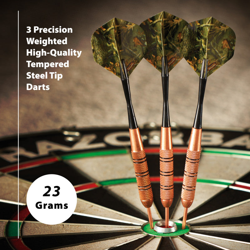 Fat Cat Realtree Hardwoods HD Steel Tip Darts 23 Grams
