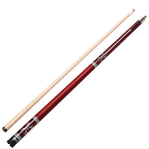 Viper Sinister Series Cue with Red Wrap and Casemaster Q-Vault Supreme Black Cue Case Billiards Viper