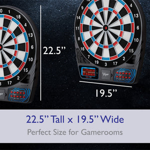 "Viper 777 Electronic Dartboard, 15.5"" Regulation Target"