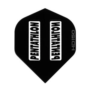 Pentathlon HD 150 Standard Black Flights Dart Flights Viper