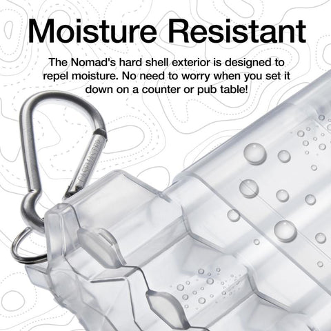Casemaster Nomad Adjustable Dart Case Clear