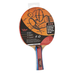 Viper Three Star Table Tennis Racket