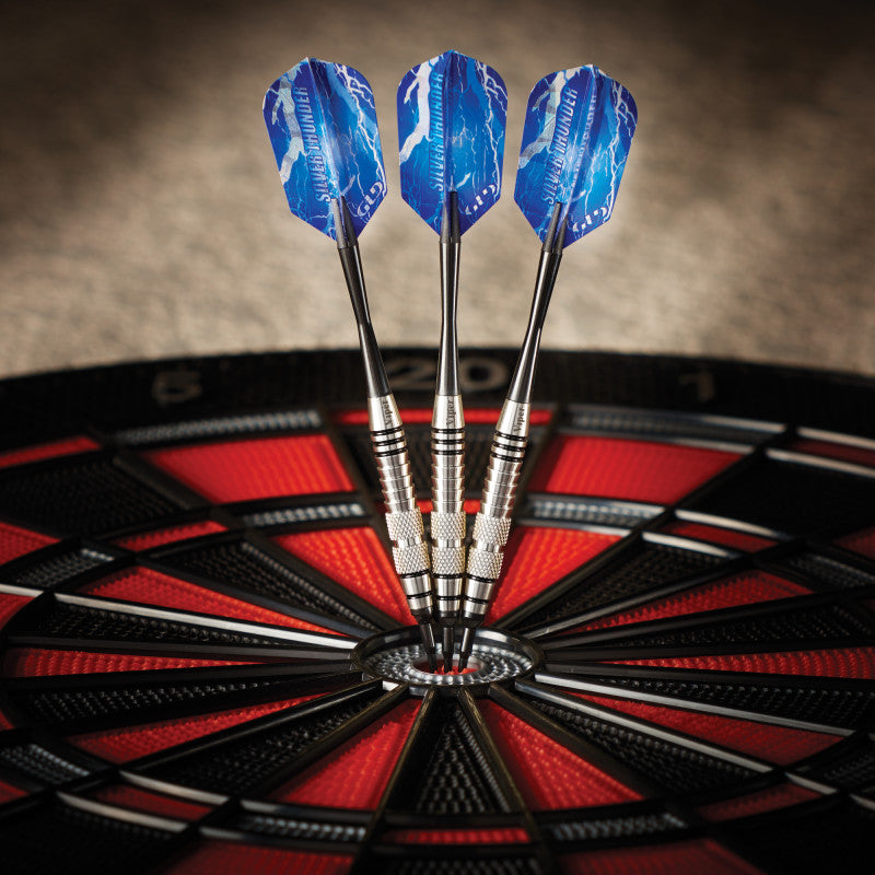Viper Silver Thunder Darts Soft Tip Darts 2 Knurled Rings 18 Grams