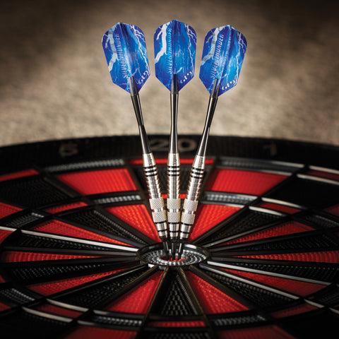 Image of Viper Silver Thunder Darts Soft Tip Darts 2 Knurled Rings 18 Grams