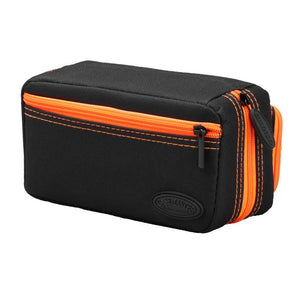 Casemaster Plazma Pro Dart Case Black with Orange Trim and Phone Pocket