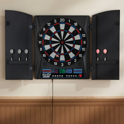 Fat Cat Electronx Electronic Dartboard Soft-Tip Dartboard Fat Cat