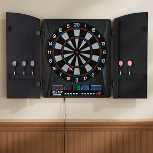 "Fat Cat Electronx Electronic Dartboard, 13.5"" Compact Target"