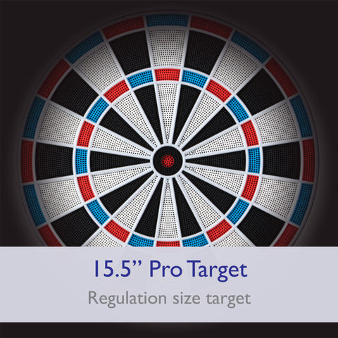 "Viper 787 Electronic Dartboard, 15.5"" Regulation Target"
