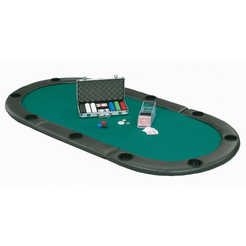 Fat Cat Tri-Fold Poker Table Top Casino Tables Fat Cat