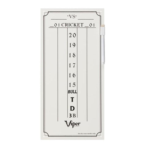 Image of Viper Small Cricket Dry Erase Scoreboard Dartboard Accessories Viper