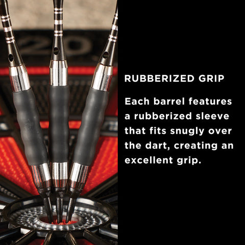 Viper Sure Grip Soft Tip Darts Black 16 Grams
