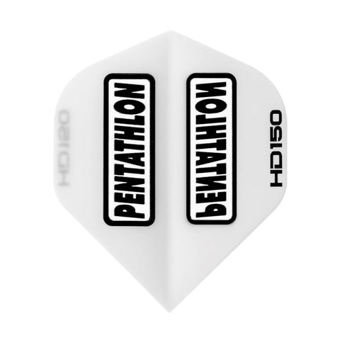 Pentathlon HD 150 Standard White Flights Dart Flights Viper