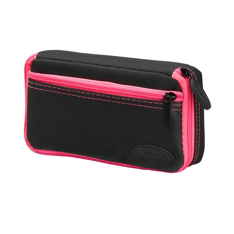 Casemaster Plazma Dart Case Black with Pink Zipper