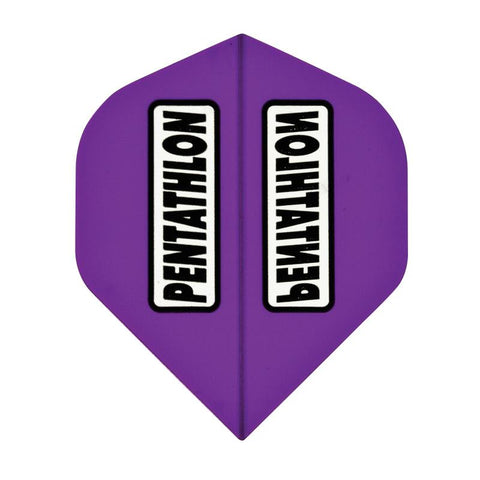 Pentathlon Standard Translucent Purple Flights Dart Flights Viper
