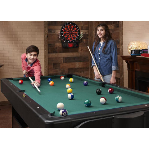 Image of Fat Cat Original 3-in-1 Green 7' Pockey™ Multi-Game Table Multi-Tables Fat Cat
