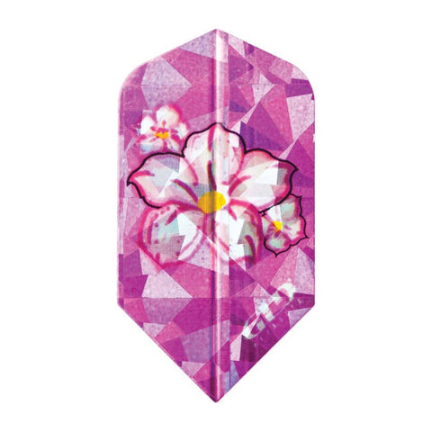 V-Lux Glitter Flights Slim Flower Dart Flights Viper
