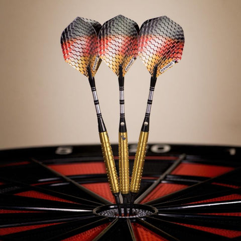 Image of Elkadart Titanium 90% Tungsten Soft Tip Darts Gold Titanium Coating 18 Grams