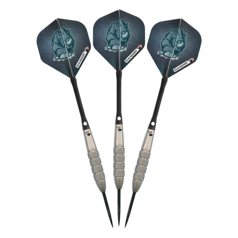 Elkadart Rhino Tungsten Steel Tip Darts 27 Grams