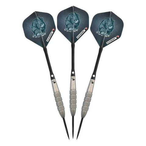Image of Elkadart Rhino Tungsten Steel Tip Darts 27 Grams