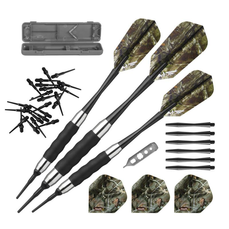 Fat Cat Realtree Xtra Soft Tip Darts 16gm, Viper Realtree Hardwoods HD Junior Cue, and Viper Realtree Hardwoods HD Soft Cue Case Billiards Viper
