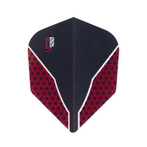V-100 Flights Standard Red Dart Flights Dart Flights Viper