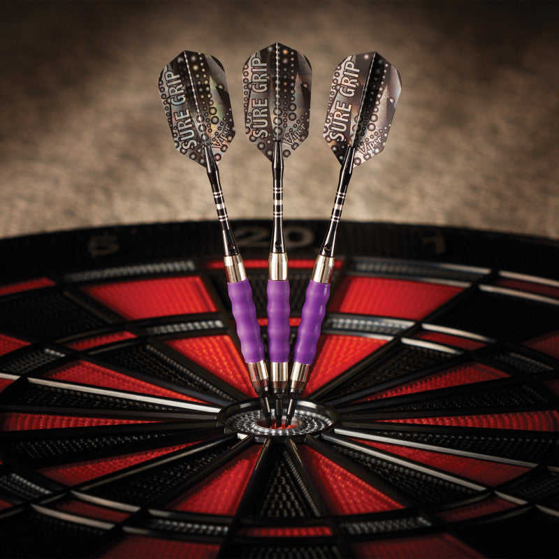 Viper Sure Grip Darts Purple Soft Tip Darts Soft-Tip Darts Viper