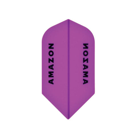 Amazon Slim Translucent Purple Flights Dart Flights Viper