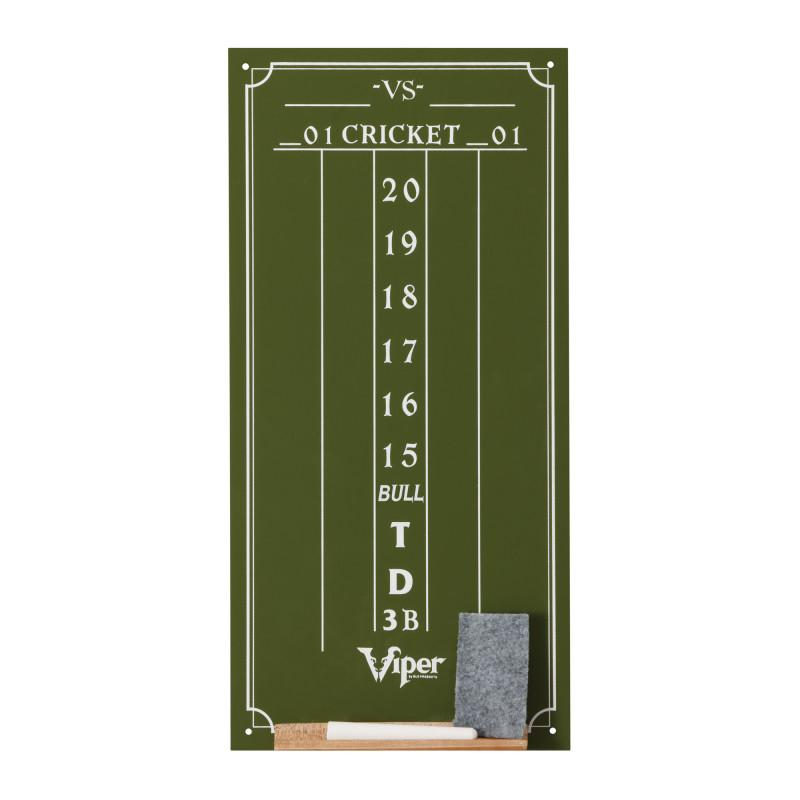 Viper Small Cricket Chalk Scoreboard Dartboard Accessories Viper