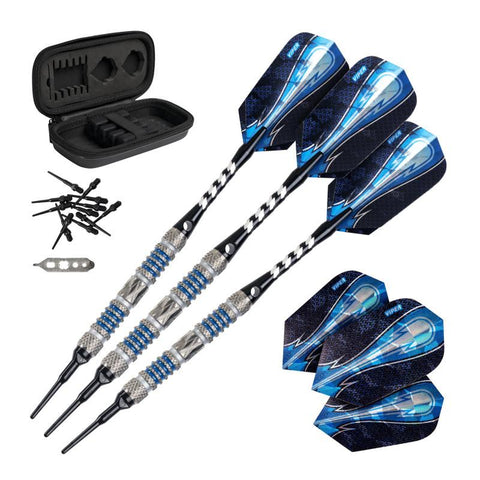 Image of Viper Astro Tungsten Soft Tip Darts Blue Rings 16 Grams
