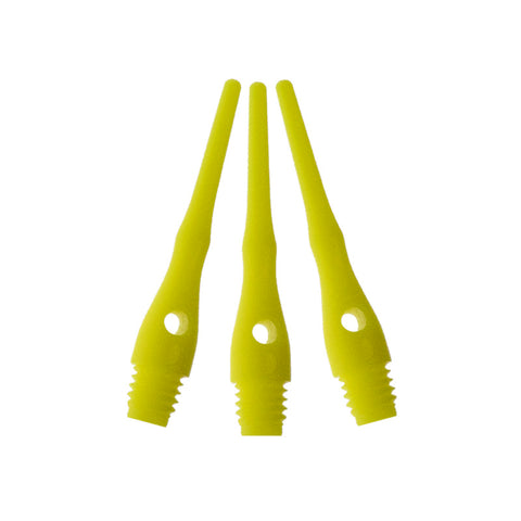 Viper Tufflex Tips III 2BA 1000Ct Soft Dart Tips Yellow