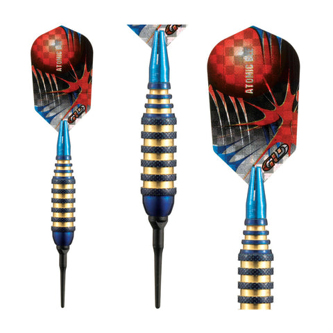 Image of Viper Atomic Bee Darts Blue Soft Tip Darts 16 Grams Soft-Tip Darts Viper