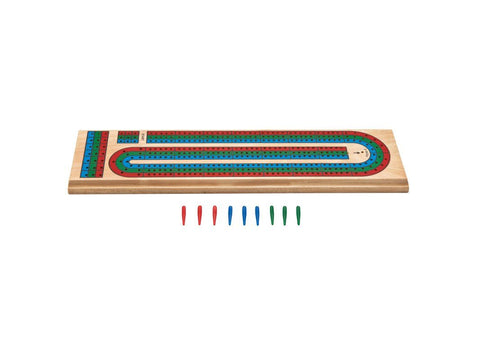 Image of Mainstreet Classics Wooden Cribbage Board