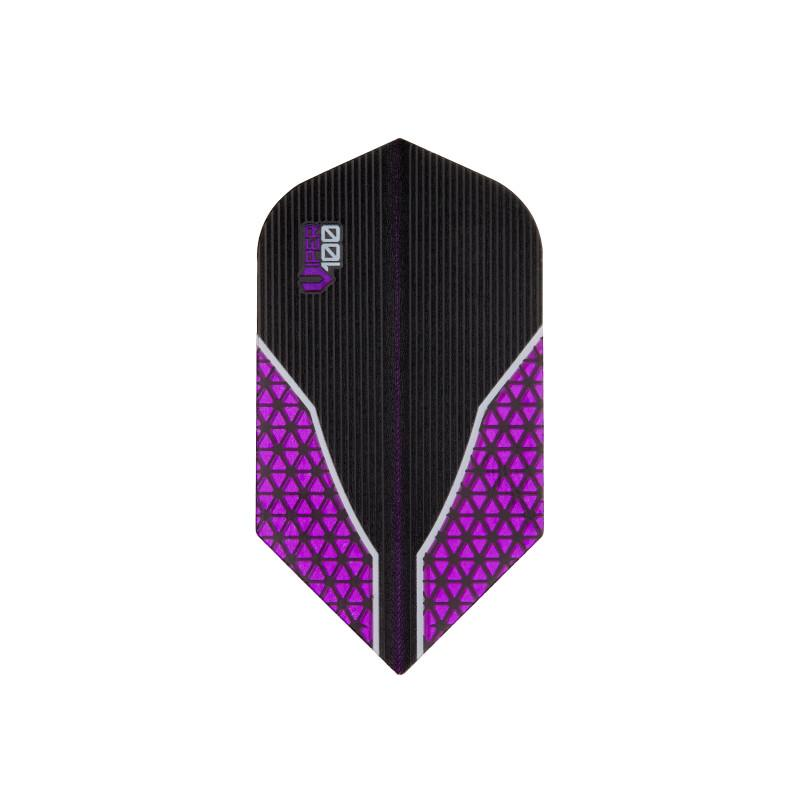 V-100 Flights Slim Purple Dart Flights