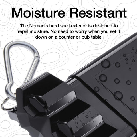 Image of Casemaster Nomad Adjustable Dart Case Black Dart Cases Casemaster