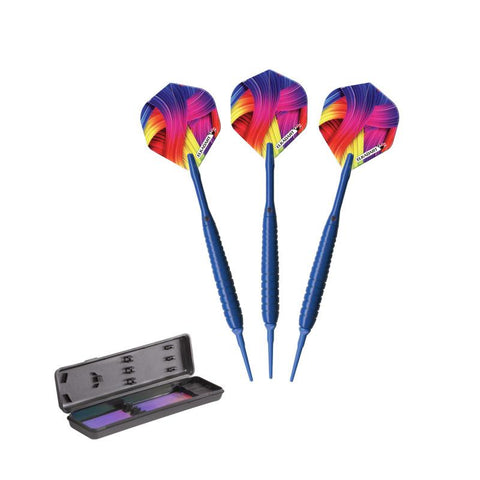 Image of Elkadart Neon Blue Soft Tip Darts 18 Grams