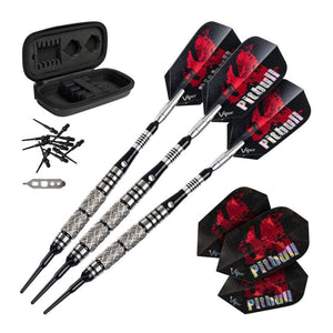 "Viper 787 Electronic Dartboard, Pitbull Soft Tip Darts, 50ct Dart Tips, ""The Bull Starts Here"" Throw Line Marker & Tip Remover Tool Darts Viper"