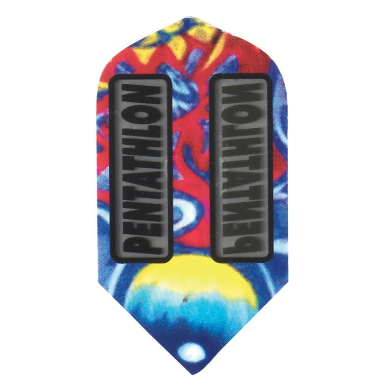 Pentathlon Flights - Slim Tie Dyed