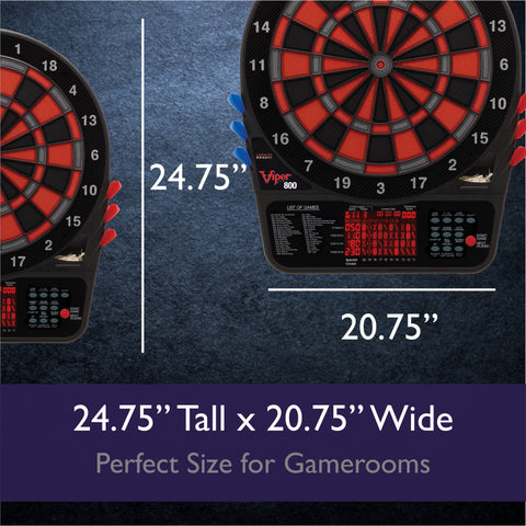 Image of Viper 800 Electronic Dartboard Soft-Tip Dartboard Viper