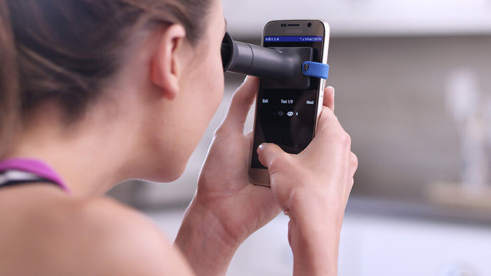 This New At-Home Eye Exam Device is a GAME CHANGER