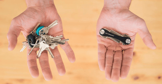 This Clever Gadget Makes Your Bulky Keys Compact, Quiet, and Comfortable to Carry