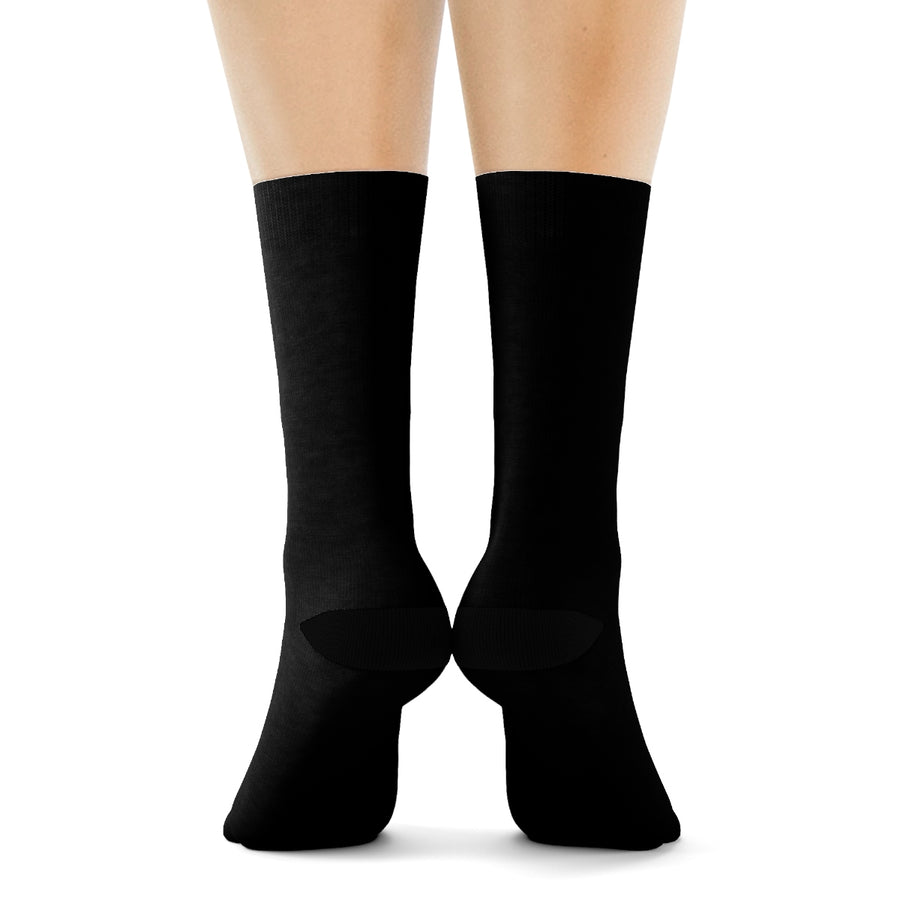Black dancer socks - in ankle or crew style