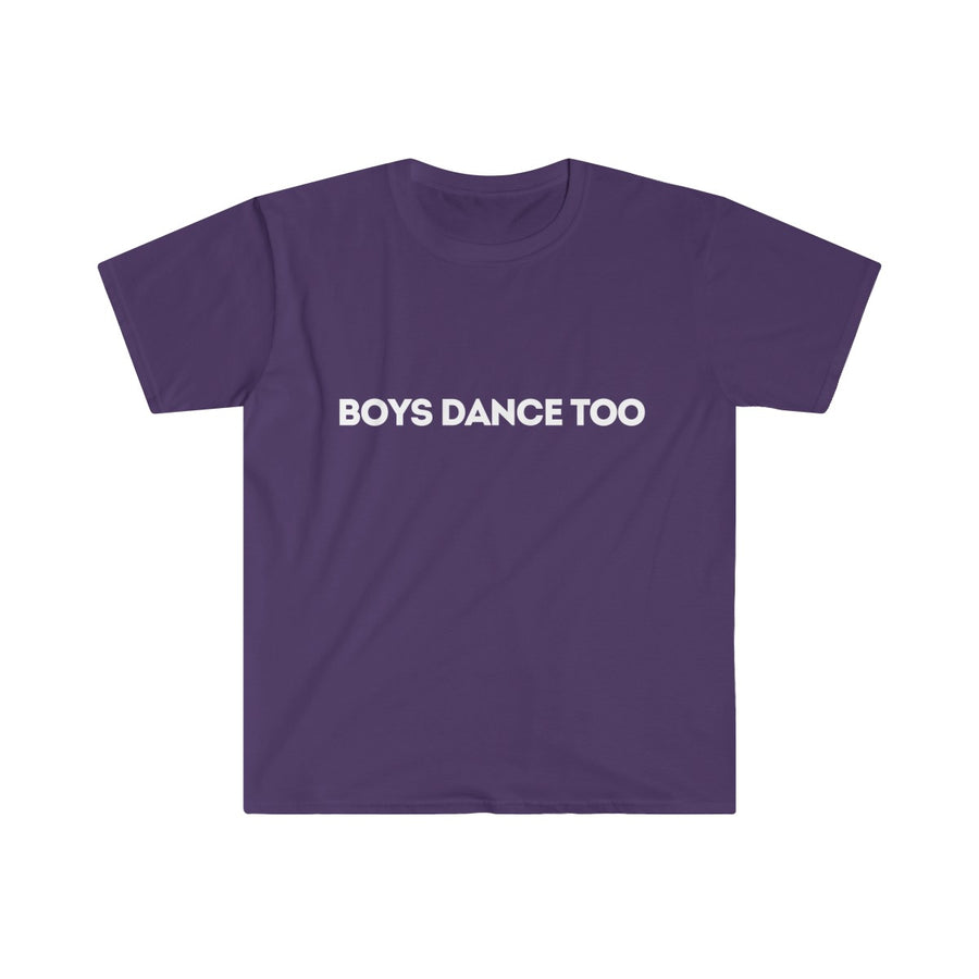 Boys Dance Too gift Boys Dance Too T-shirt  Mens dance tshirt Mens ballet tshirt Dance Market