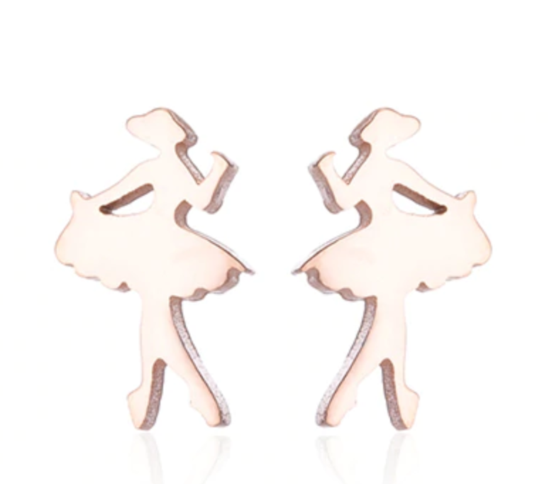 Elegant Ballet Earrings in various colours